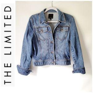 The Limited Jean Denim Jacket EUC!